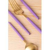 Metallic Cutlery Noya Colors 16 Pieces, thumbnail image 3
