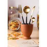 Metallic Cutlery Noya Colors 16 Pieces, thumbnail image 1