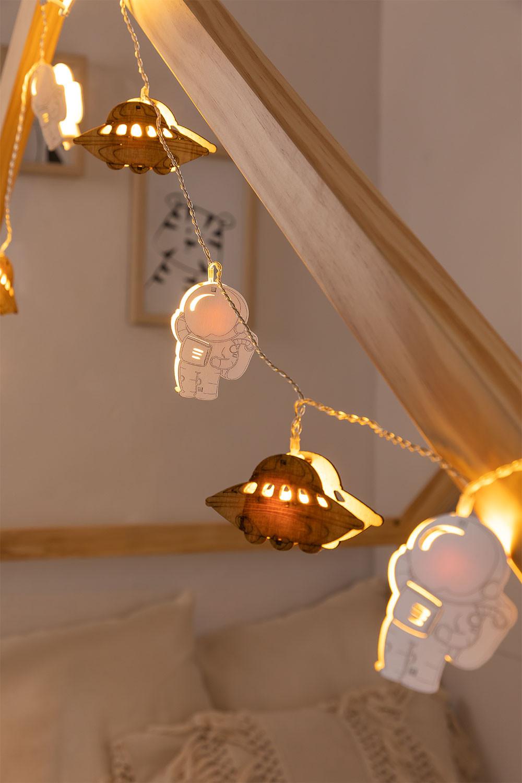 Decorative LED Wreath Espeis Kids (2,23 m), gallery image 1