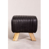 Low Stool in Finda Leather, thumbnail image 3
