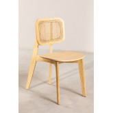 Defne Wood Dining Chair, thumbnail image 2