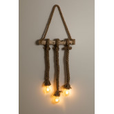 Wooden-Rope  Pendant Lamp Savy, thumbnail image 2