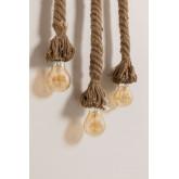 Wooden-Rope  Pendant Lamp Savy, thumbnail image 3
