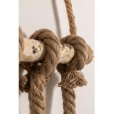 Wooden-Rope  Pendant Lamp Savy, thumbnail image 4