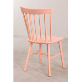 Wooden Dining Chair Shor Colors , thumbnail image 4