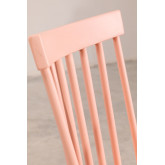 Wooden Dining Chair Shor Colors , thumbnail image 5
