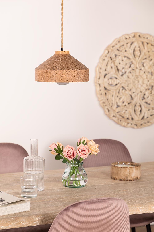 Kissa Porcelain Ceiling Lamp, gallery image 1