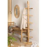 Narel Teak Wood Coat Rack, thumbnail image 1