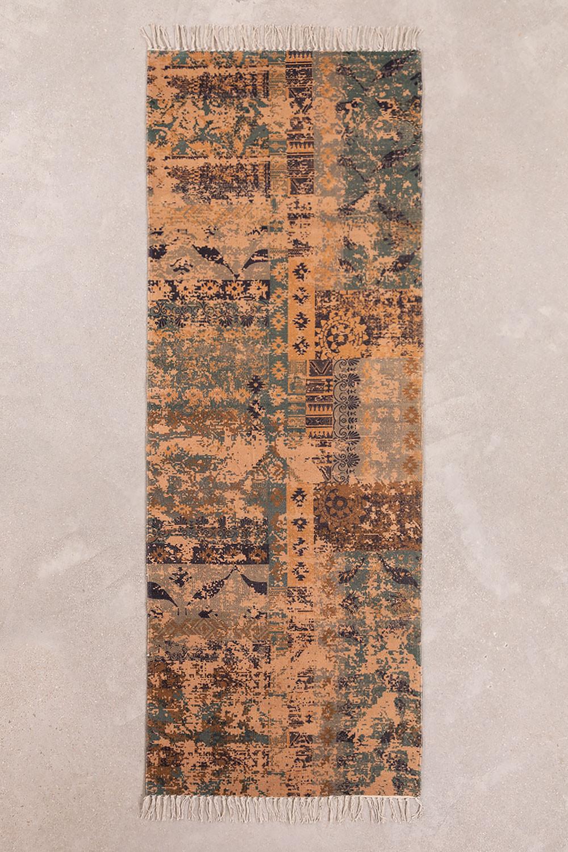 Cotton Rug (200x75 cm) Llac, gallery image 1