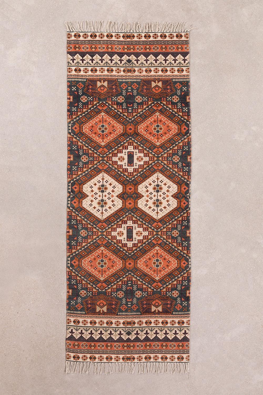 Cotton Rug (200x75 cm) Alaina, gallery image 1