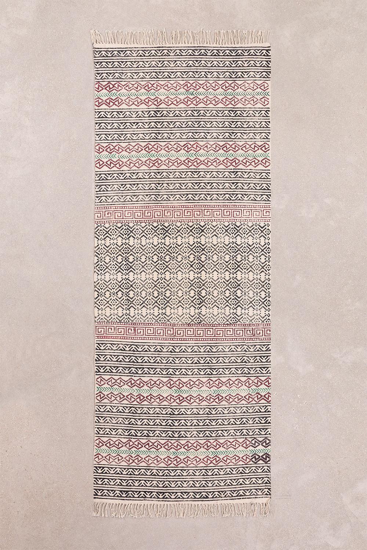 Cotton Rug (203x79 cm) Sousa, gallery image 1