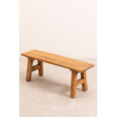 Recycled Wooden Bench Rieve, thumbnail image 2