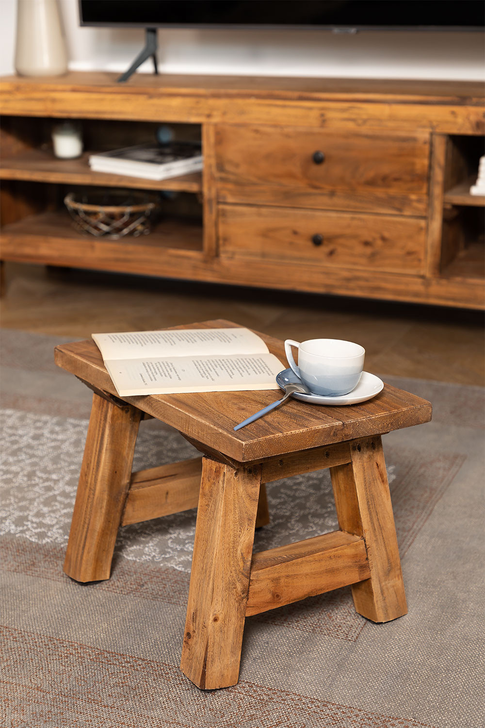 Recycled Wooden Bench Rieve, gallery image 1