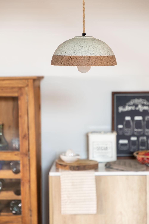 Porcelain Ceiling Lamp Eilys, gallery image 1