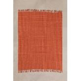 Cotton Plaid Blanket  Fenna , thumbnail image 1