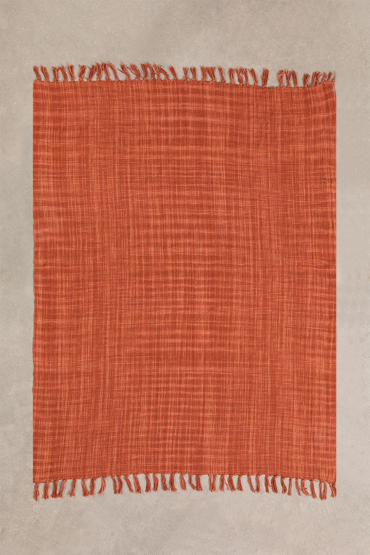 Cotton Plaid Blanket  Fenna , gallery image 1