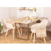 Rectangular Dining Table (160 X 90 cm) Libhas, thumbnail image 823581