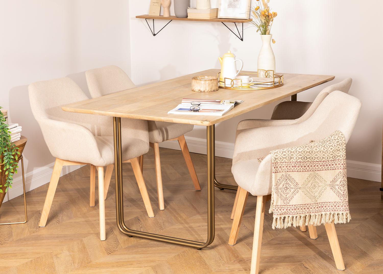 Rectangular Dining Table (160 X 90 cm) Libhas, gallery image 823581