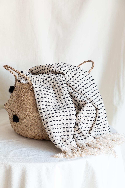 Aryas Cotton Plaid Blanket, gallery image 1