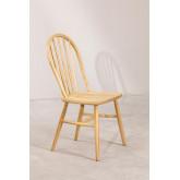 Dining Chair in Natural Lorri Wood, thumbnail image 2