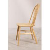 Dining Chair in Natural Lorri Wood, thumbnail image 3