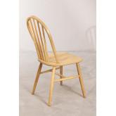 Dining Chair in Natural Lorri Wood, thumbnail image 4