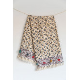 Plaid Blanket in Tenesi Cotton, thumbnail image 1