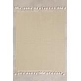 Plaid Cotton Blanket Olis, thumbnail image 1