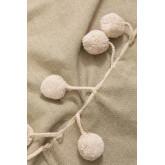 Plaid Cotton Blanket Olis, thumbnail image 2