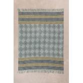 Plaid Blanket in Karelis Cotton, thumbnail image 1