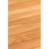 Folding Garden Table in Teak Wood (120x70 cm) Pira, thumbnail image 6