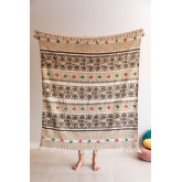 Plaid Cotton Blanket Betsi, thumbnail image 1