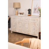 Wooden Sideboard with Drawers Dimma, thumbnail image 1
