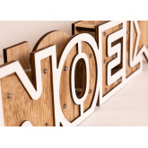 WOODEN SIGN WITH LED LIGHTS NOEL, thumbnail image 5