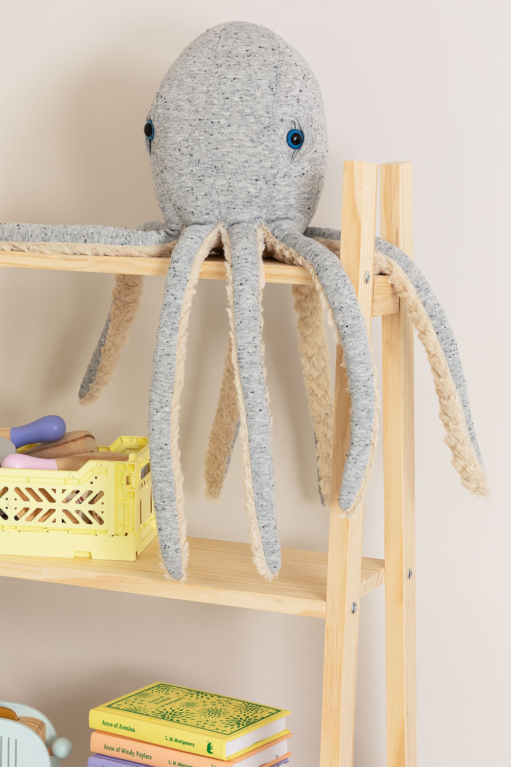 Suly Kids Cotton Plush Octopus, gallery image 1