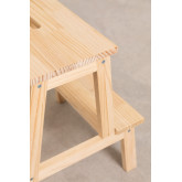 Wems Pine Wood Step Stool, thumbnail image 5