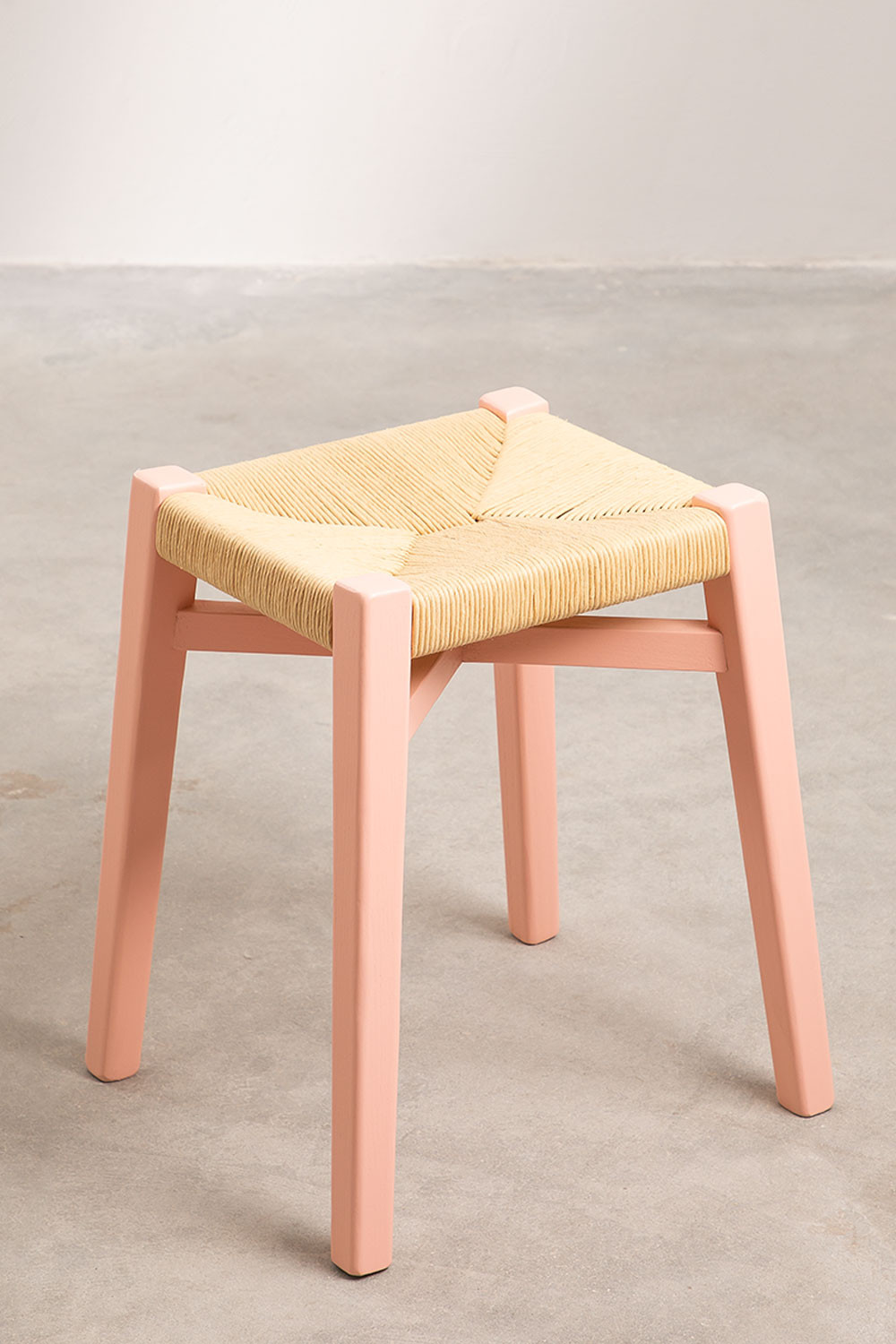 Low  Wooden Stool Uish, gallery image 1