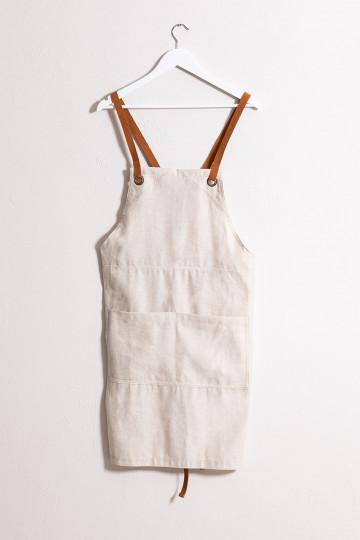 Zacari Linen and Cotton Apron