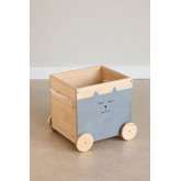 Wooden Storage Cart Madys Kids, thumbnail image 2