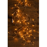 Curtain with LED Lights (2 m) Jill Warm Light, thumbnail image 3