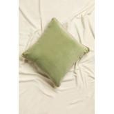 Square Velvet Cushion (40x40 cm) Lat, thumbnail image 2
