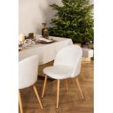 Kana Fabric Upholstered Dining Chair, thumbnail image 1