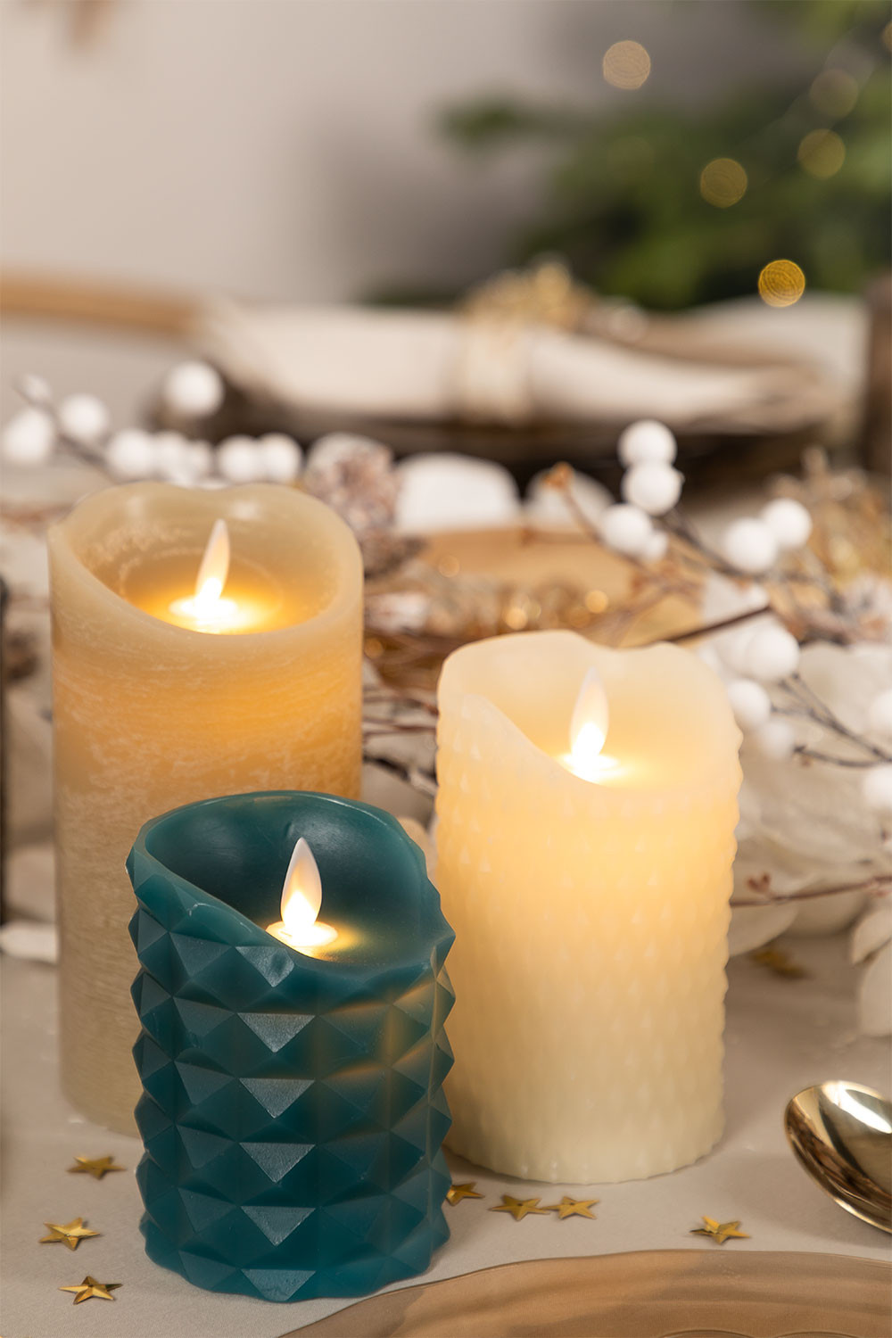 Mati LED Candles, gallery image 1