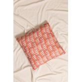 Zugui Square Cotton Cushion (50x50cm) , thumbnail image 1