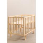 Tianna Kids Wood Crib, thumbnail image 2