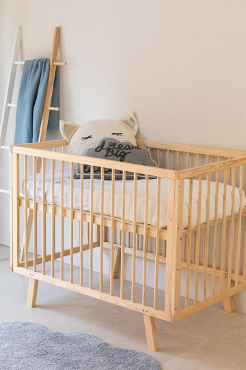 Tianna Kids Wood Crib
