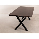 Acacia Wood Dining Table 200 cm Mhosit X, thumbnail image 842018