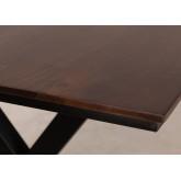 Acacia Wood Dining Table 200 cm Mhosit X, thumbnail image 842023