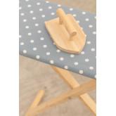 Carla Kids Wooden Ironing Board, thumbnail image 4