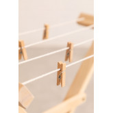 Teo Kids Wooden Clothesline, thumbnail image 5